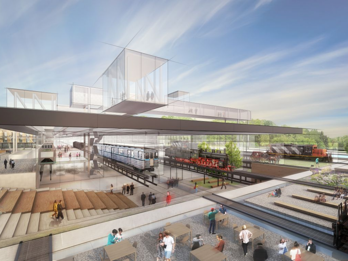 Development of New Hungarian Transport Museum continues